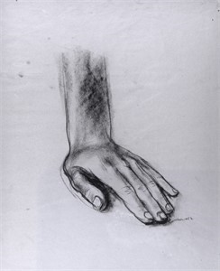 "Image of Study for ""The Incident"", Hand"