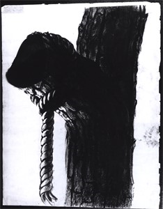 "Image of Study for ""The Incident"", Tree limb with rope"